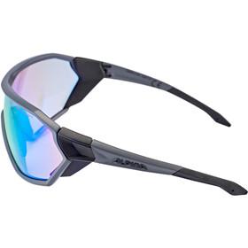 Alpina S-Way VLM+ Sunglasses coal matt-black
